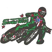 MSB Speedway Aufkleber rarität Wigg klein