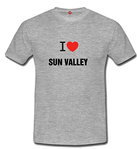 T-shirt Sun valley grigia