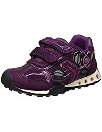 Geox Jr New Jocker Girl C, Zapatillas para Niñas
