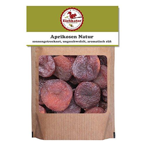 Eichkater sonnengetrocknete Aprikosen Natur, ungeschwefelt 4er-Pack (4x500 g)