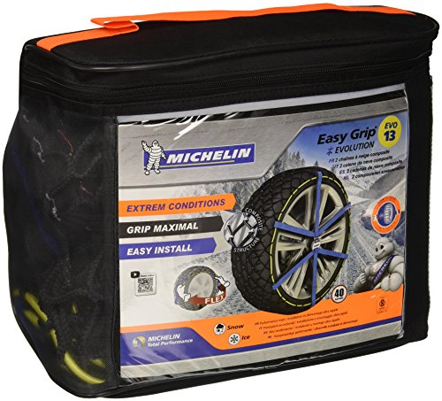 Michelin 008313 catene neve easy grip evolution gruppo, 13, set di 2