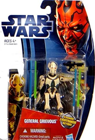 Hasbro Star Wars Movie Heroes Collection General Grievous mit