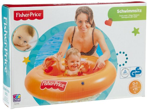 baby-infant-fisher-price-inflatable-float-ring-aid-trainer-swim-seat-chair-by-fisher-price
