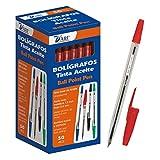 79462 D'Art-Boîte de 2 stylos 1 mm 50 pièces rouge