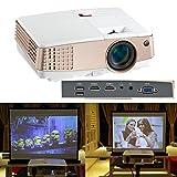 Support visuel HD 1080P 720P de projecteur visuel de cinéma à la maison d'affichage à cristaux liquides mini d'affichage à cristaux liquides