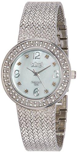 51TJ4Eq882L - Burgi Mother Of Pearl Women BUR097SS watch