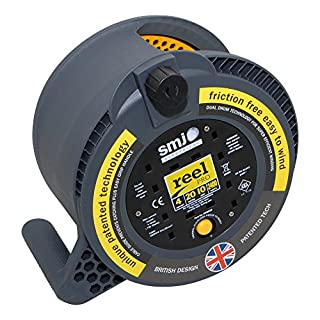 Reel Pro RP2010 10 A with 4 Socket Thermal Cutout of 20 m