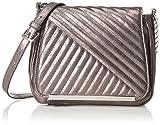 Tamaris Damen Lilia Saddle Bag Umhängetaschen, Silber (Pewter 915), 20x18x8 cm