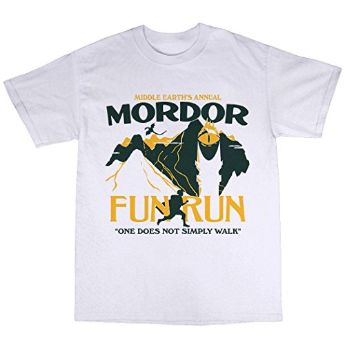 Mordor Middle Earth Fun Run T-Shirt - Fun Run Shirt