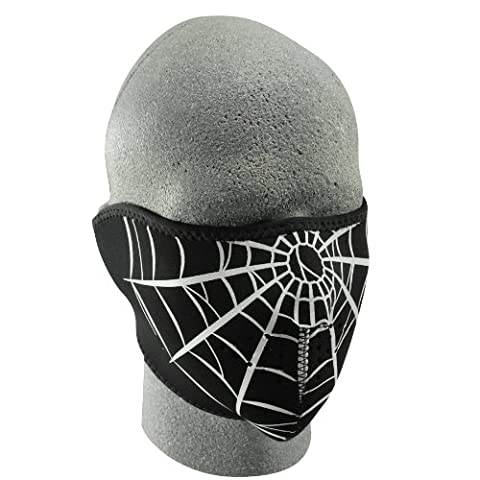 ZANheadgear Masque Facial en néoprène pour moto, quad, ski et snowboard WNFM055H