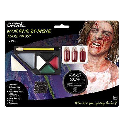 Amscan International 9901423Horror Zombie Make Up Kit