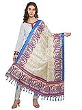 Varayu Women's Bhagalpuri Silk Printed Dupatta