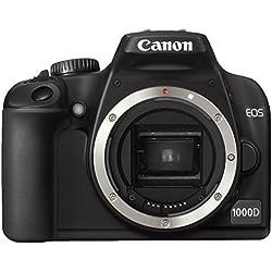 Canon EOS 1000D Appareil photo numérique Reflex 10 Mpix Boitier nu Noir