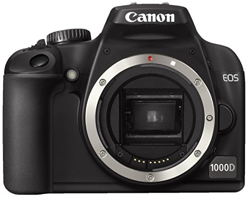 Canon EOS 1000D SLR-Digitalkamera (10 MP, Live-View) Gehäuse -