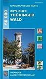 Zentraler Thüringer Wald  / Oberes Werrattal: Ausgabe mit Wander- und Radwanderwegen 1:50 000 (Topographische Karten Thüringen - Freizeit- und Wanderkarten 1:50000) -