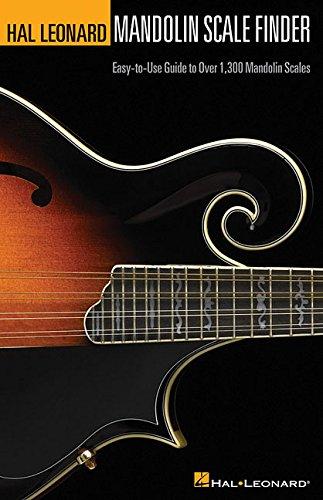 Hal Leonard Mandolin Scale Finder (A5 Edition): Buch für Mandoline -