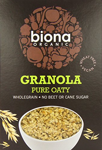 Biona Granola d'Avoine Pure Biologique 375 g - Lot de 6