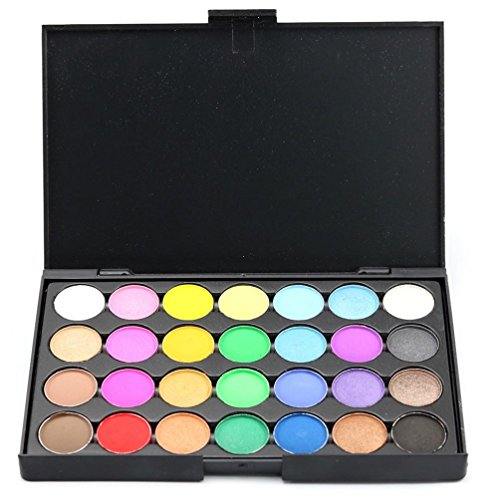 Lidschatten Palette Bunt OVERMAL 28 Farben Make-up Lidschatten-Palette Lidschatten Erröten Make up...