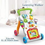 Dagali Children Musical Walker, Push and Pull Toy for Toddlers and Kids, Ba