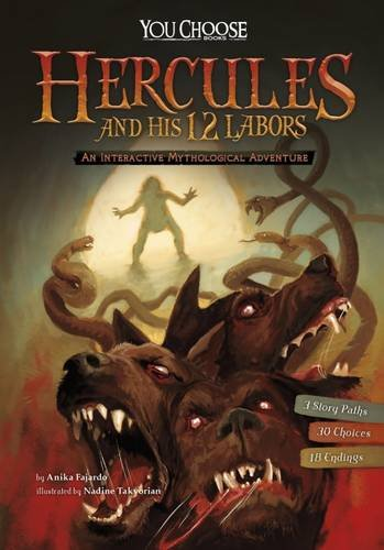 Hercules and his 12 labours : an interactive mythological adventure