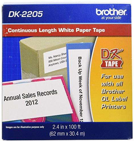 Continuous Paper Label Tape, 2-3/7