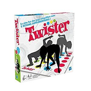 Hasbro - 988311010 - Twister - Jeu de Société