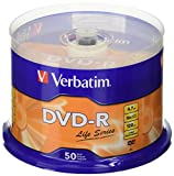 Verbatim DVD Recordable Spindle 4.7 GB (Pack of 50)