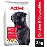 Active Chicken And Vegetable Puppy Dog Food, 3 Kg