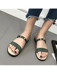 GAOLIM Sandales Filles Avec Une Base Plate À Hong Kong À L'Été La Plage Gâteau Chaussures Chaussures Pour Femmes