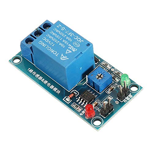 Beck Orlando Ethernet-Steuermodul Blattfeuchtigkeit Wasserloser Schalter Regensensor for Arduino 12V Regentropfen Controller Relaismodul