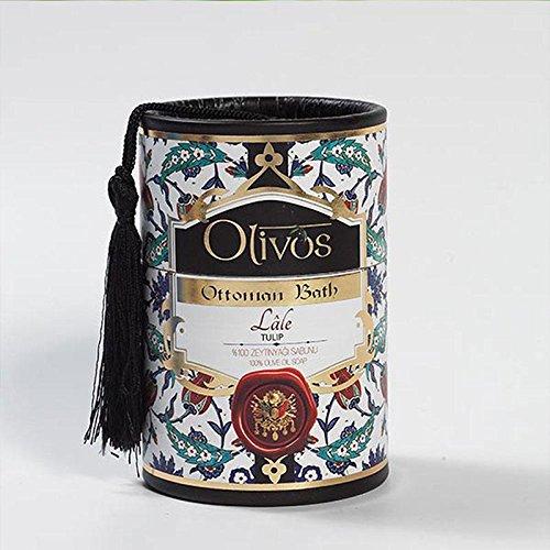 OLIVOS Ottoman Bath Savon Tulipe 2 x 100 g