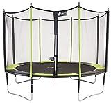 Kangui - Trampoline de jardin 365 cm + filet de sécurité JUMPI POP 360