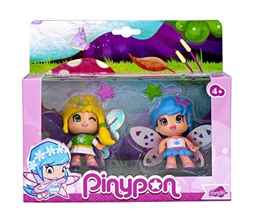 Pinypon – 700013365 – Mini Poupée – Coffret 2 Figurines Fées