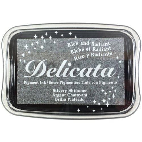 Imagine Crafts Delicata Shimmer Zarte Tinte Pad, Silber
