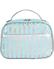 Amazon Brand - Solimo Cosmetic Pouch Sky Blue T1906308A