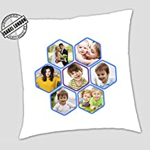 Personalised Photo Collage funda para cojín. Añadir 7 fotos. Collage Pro – ilc2000. 19 diseños. Cushion Cover +Insert Design-10
