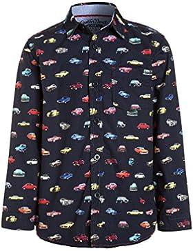 camisa con estampado de coches multicolor para niño 2-3 años