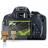 atFoliX Displayschutz für Canon EOS 700D / Rebel T5i Spiegelfolie - FX-Mirror Folie mit Spiegeleffekt