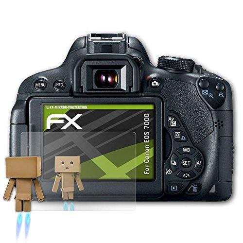 atFoliX Displayfolie für Canon EOS 700D / Rebel T5i Spiegelfolie, Spiegeleffekt FX Schutzfolie