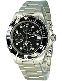 Revue Thommen Herren-Armbanduhr XL Diver Chronograph Automatik Edelstahl 17571.6137