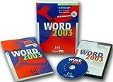 Word 2003 Basis, CD-ROM und Buch m. CD-ROM An Beispielen lernen. Mit Aufgaben üben. Durch Testfragen Wissen überprüfen