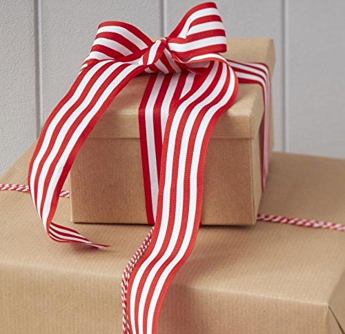 s Geschenkband und Geschenkgarn von Ginger Ray-im klassischen Weihnachtslook ()