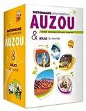 Coffret Auzou Dictionnaire, Encyclopédie et Atlas du Monde (édition 2018)