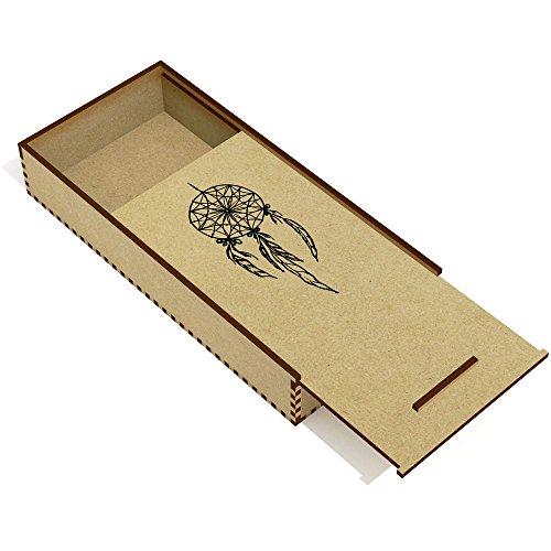 Azeeda 'Atrapasueños' Estuche de lápices de Madera (PC00002184)