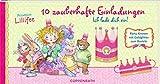 Einladungskarten Prinzessin Lillifee - Ich Lade Dich Ein! 10 Zauberhafte Einladungskarten
