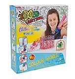 Giochi Preziosi - IDO3D Vertical con 4 Penne, Disegno e Creazione in 3 Dimensioni, Set Color World Girl