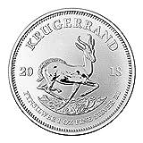 South African Mint 1 OZ Silber Silver Münze 1 Unze - Krügerrand 2018