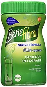 Benefibra Polvere vegetale utile come integratore alimentare, 155g