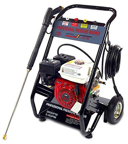 Benzin Hochdruckreiniger Benzinmotor Dampfstrahler 210 bar 6,5 PS 4,8 kW
