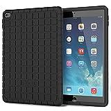 IPad Air 2 Schutzhülle - Poetic [GraphGRIP Series] iPad Air 2 Hülle - [Leichte] [Grip] Schützende Silikonhülle für Apple iPad Air 2 Schwarz (3 Jahre Herstellergarantie von Poetic)